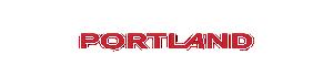 Portland Fitness Equipment white logo